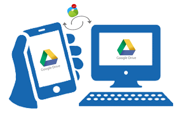 transfer photos from samsung to pc with google drive