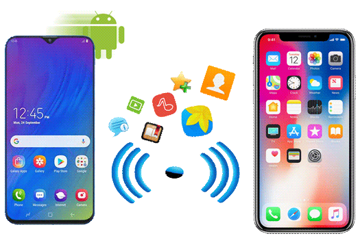 how to transfer android to iphone