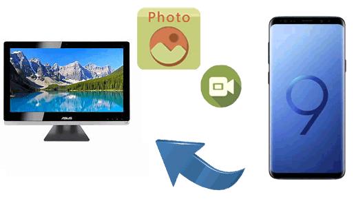 transfer photos and videos from samsung to pc