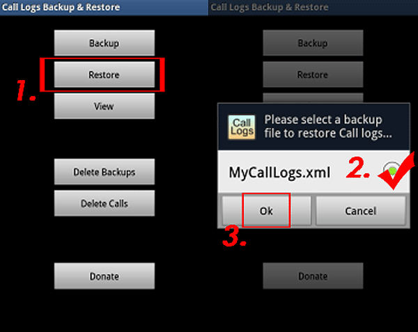 how to backup call log on android with third party tool