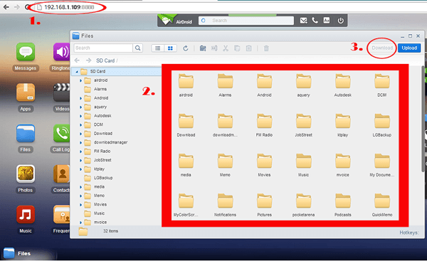 samsung file transfer for mac with airdroid