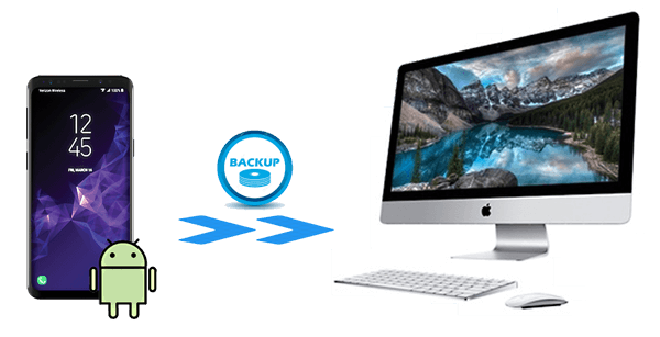 how to backup android to mac