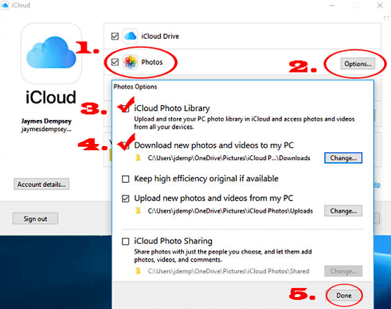 how to transfer videos from ipad to pc with icloud photos