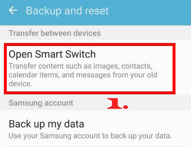 transfer data from android to android with smart switch
