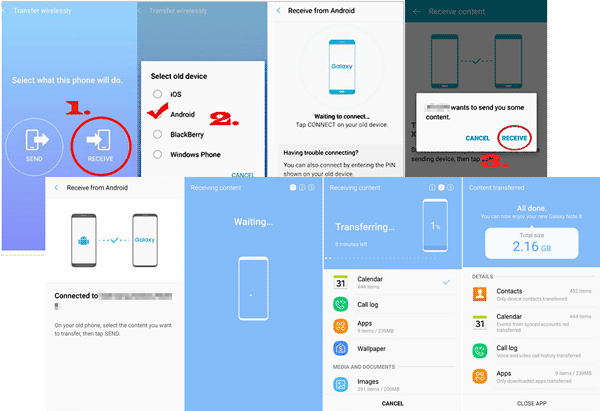 transfer data to new android phone with smart switch