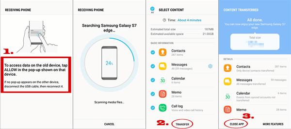 transfer from iphone to samsung using smart switch