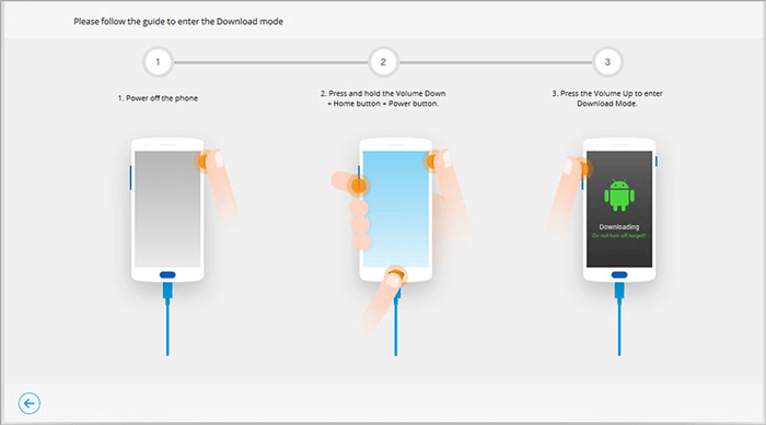 enter download mode to unlock locked android phone without losing data