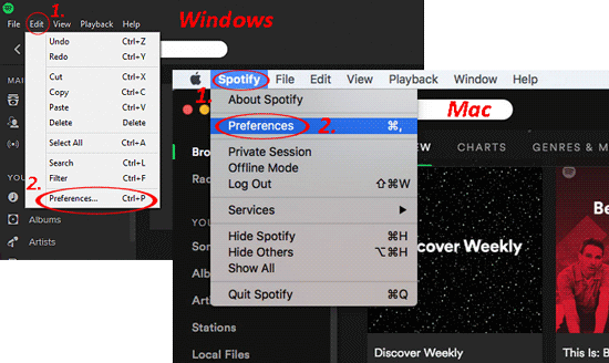 use spotify to transfer music from computer to iphone without itunes