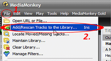 use mediamonkey to transfer music from computer to iphone without itunes
