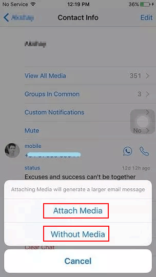 how to migrate whatsapp to new iphone with email