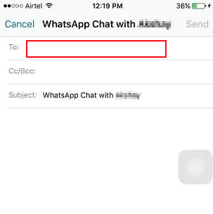 migrate whatsapp to new iphone with email