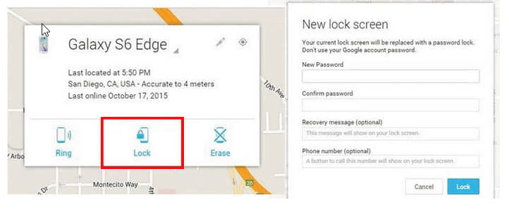how to unlock locked android phone without losing data with find my device
