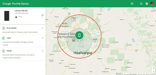 samsung phone manager - find my device