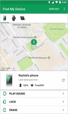 samsung unlock tool - android device manager