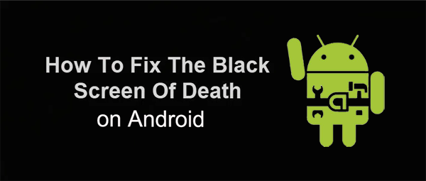 fix black screen on android