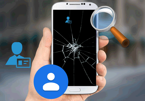 how to recover my contacts from my broken android phone