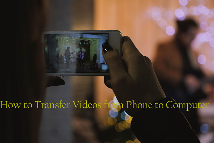 how to transfer videos from phone to computer