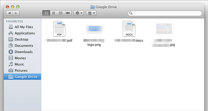 transfer files from mac to iphone with google drive