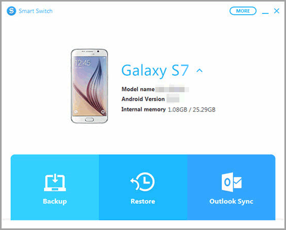 restore samsung phone with smart switch