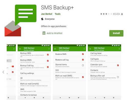 how to recover deleted text messages on android via sms backup