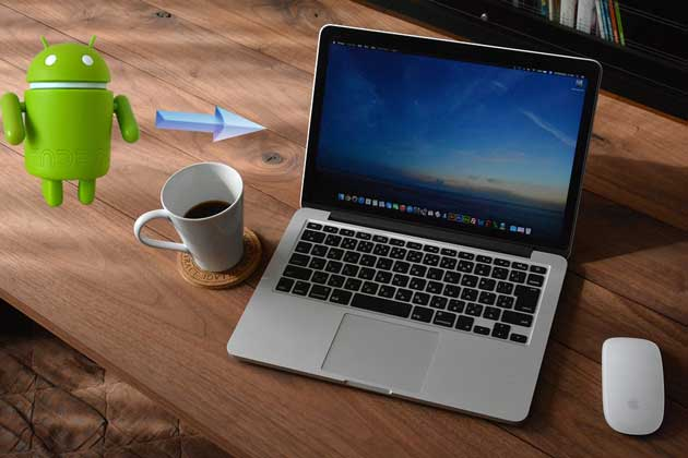 connect android to mac