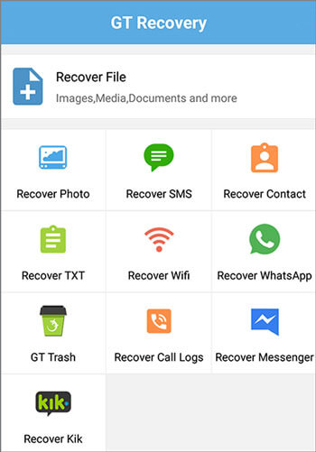 how to recover deleted audio files from android phone with gt recovery