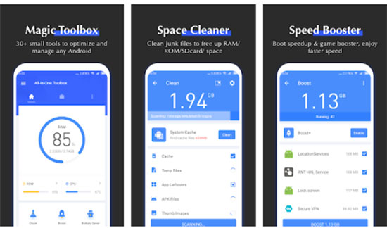 best android phone cleaner app - toolbox