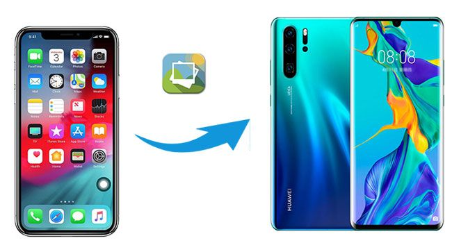 how to transfer photos from iphone to huawei