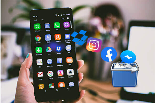 how to uninstall apps on android phone from computer