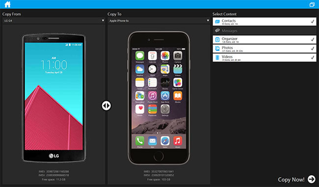 iphone to android transfer software - mobiledit
