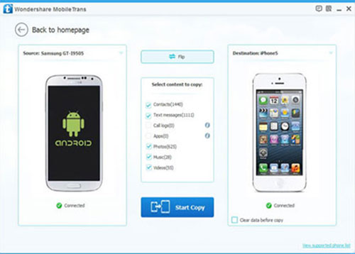 iphone to android transfer software - iphone to android transfer
