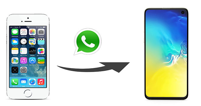 how to transfer whatsapp from iphone to samsung