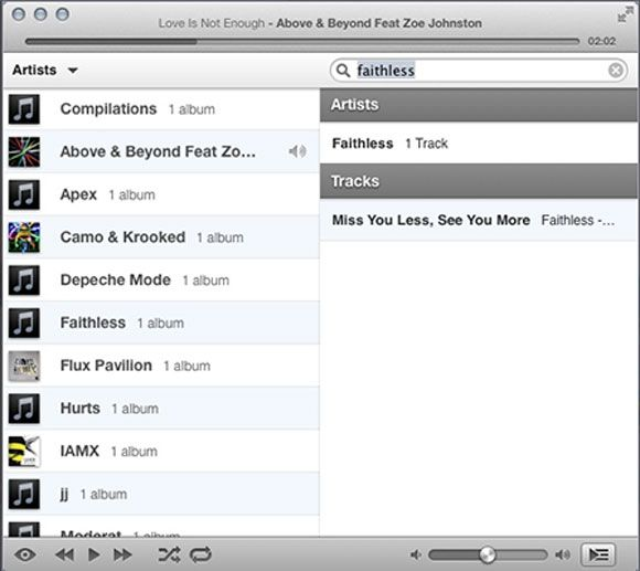 itunes alternative for mac - ecoute