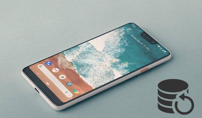 backup and restore google pixel