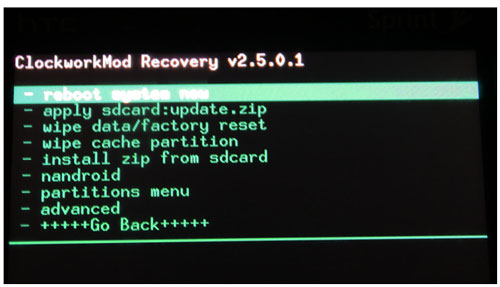 how to get into a locked phone via custom recovery