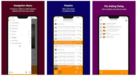 best music manager for android - aimp