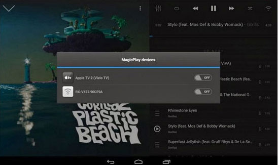 best music manager for android - doubletwist