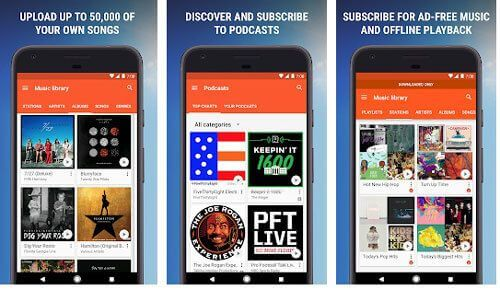 best music manager for android - google play music
