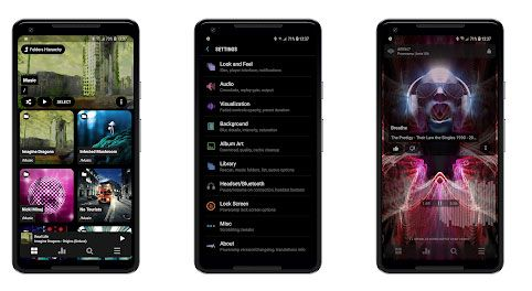 best music manager for android - poweramp