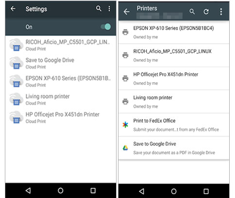 how to print text messages from lg phone via cloud print