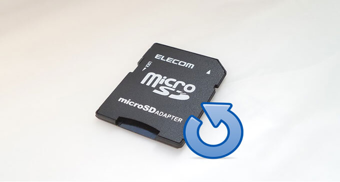 micro sd card recovery