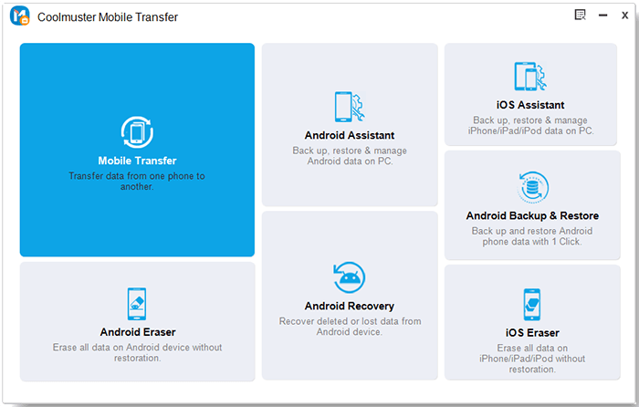 toolbox of mobile transfer