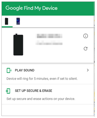 use find my device to erase your phone if you locked out of android phone