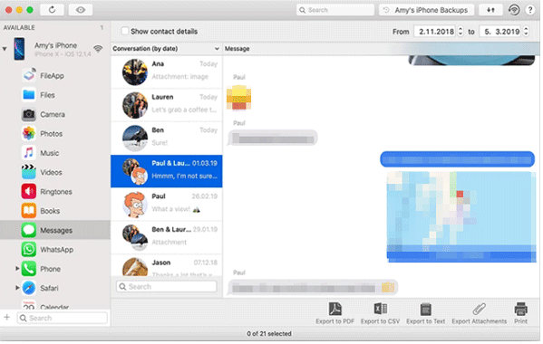 iphone sms transfer software - imazing