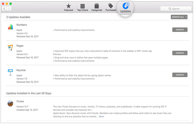 update itunes to latest version for mac