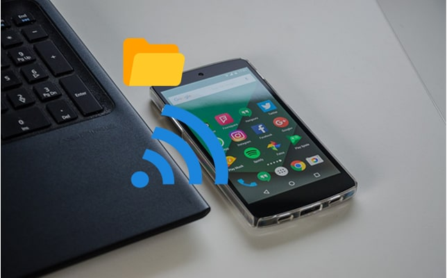 how to transfer files from pc to android phone without usb