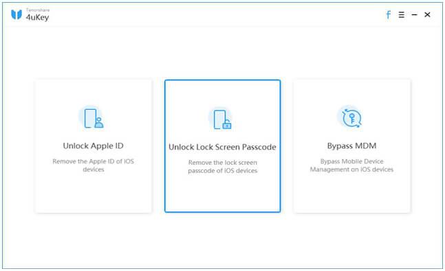 iphone unlock software - 4ukey