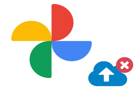 google photo backup stuck