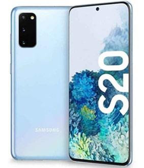 iphone 12 vs samsung s20 in design