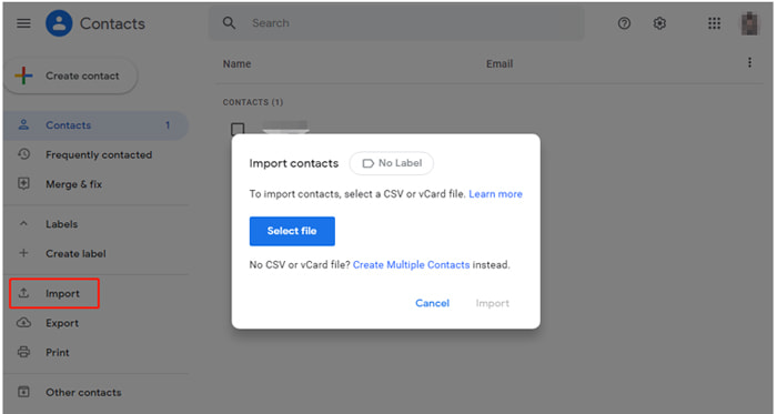 transfer contacts from iphone to pixel via google contacts